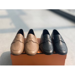 Hermes new women's shoes ladies Ancora loafers