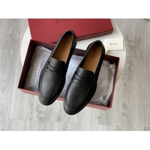 bally Webb men's slip-on casual shoes leather shoes