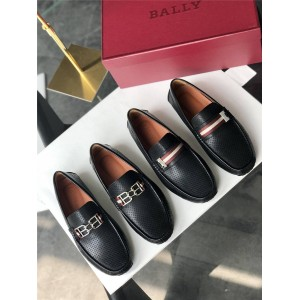 BALLY official website Parsal men's driving shoes Peas shoes