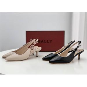BALLY ladies pointed toe slingback ladies high heel sandals