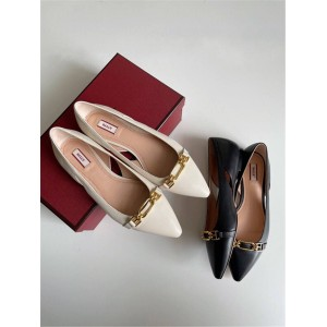 BALLY ladies LYKA FLAT flat shoes single shoes