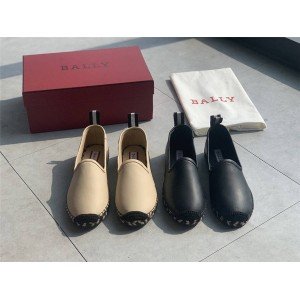 BALLY official website women's shoes ladies leather fisherman shoes