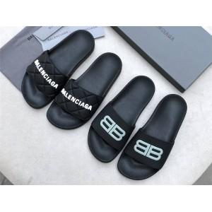Balenciaga official website Pool Slide Sandal luminous sandals slippers