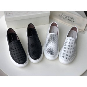 Alexander McQueen Women's Perforated Hollow Casual Shoes