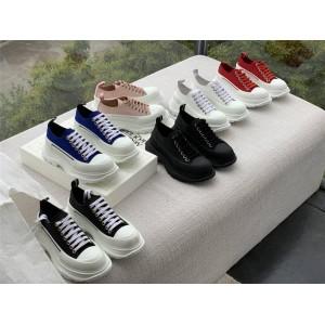Alexander McQueen women's shoes Tread Slick lace-up shoes