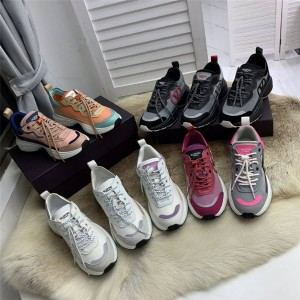 VALENTINO men's and women's SHEGOES mesh technical fabric sneakers