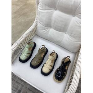 Bottega Veneta BV women's shoes new ladies leather toe cap sandals