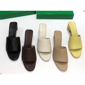 Bottega Veneta BV Women's THE BAND Sandals Block Heel Slippers