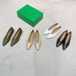 Bottega Veneta BV women's shoes ALMOND flat shoes