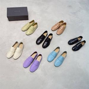 Bottega Veneta BV women's flat-heel granny shoes loafers