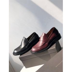 Bottega Veneta BV official website new men's calfskin loafers