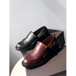 Bottega Veneta BV official website new fringed leather men's loafers