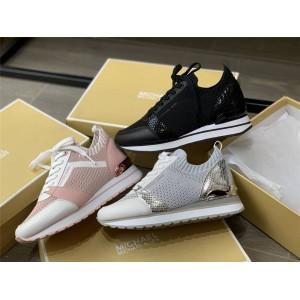 Michael Kors MK official website women's inner height fly-knit sneakers