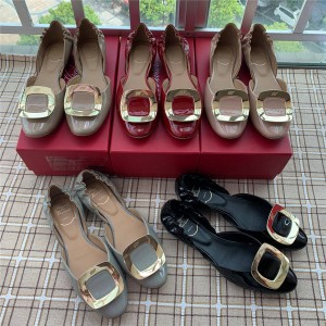 Roger Vivier RV official website women's shoes chips ballet flat bottom