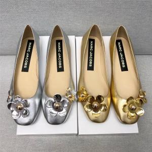 Marc Jacobs MJ women's shoes flower embellished flat shoes
