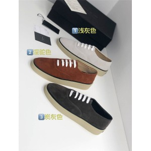 Zegna men's shoes new FEAR OF GOD suede sneakers