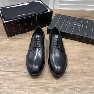 Zegna calfskin FLEX Derby shoes dress lace-up shoes