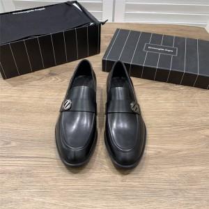 Zegna official website men's shoes calfskin Siena Flex casual shoes