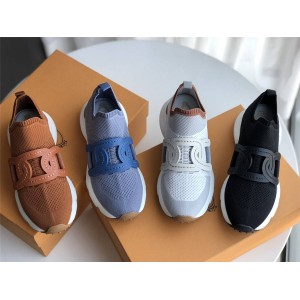 Tod's official website new ladies fabric sneakers