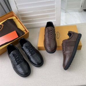 Tod's new leather men's sports shoes casual shoes