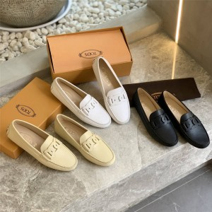 Tod's new women's shoes ladies CITY series peas shoes