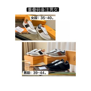 Tod's official website men's and women's new suede leather sneakers