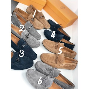 Tod's official website men's T-buckle bow peas shoes casual shoes
