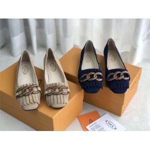 Tod's women's shoes new ballet flat shoes single shoes