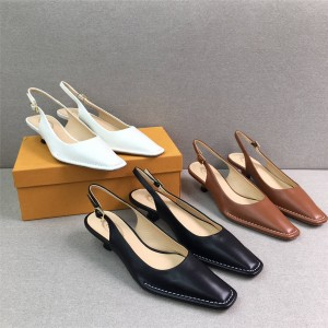 Tod's official website women's shoes new leather toe cap sandals