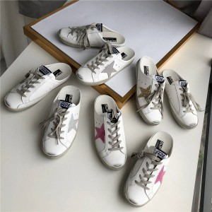 Golden Goose GGDB official website women's shoes ladies star half-up shoes