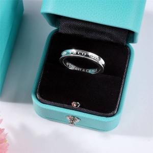 Tiffany official website 1837 TM series couple rings