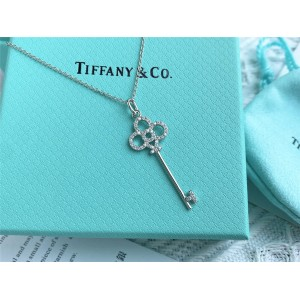 Tiffany Keys series crown key pendant necklace