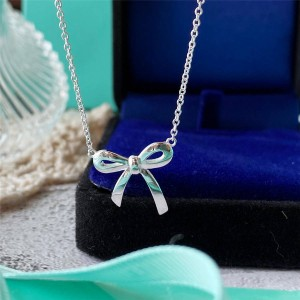 Tiffany purchases Tiffany Hong Kong official website bow necklace