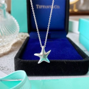 Tiffany purchases Tiffany official website starfish necklace