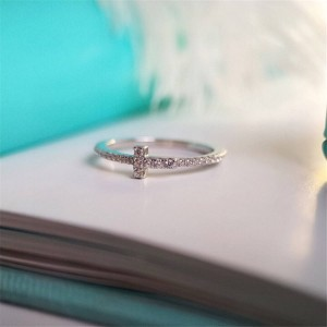 Tiffany official website T linear ring
