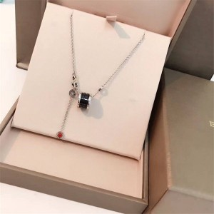 Bvlgari official website purchase charity little red man necklace