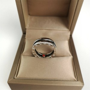 Bvlgari Charity Little Red Man Ring Couple Ring