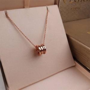 BVLGARI official website B.zero1 series classic spring necklace