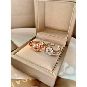 New Diamond BVLGARI Series Ring AN854619/AN855854