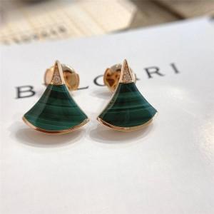 bvlgari official website malachite fan DREAM earrings 355794
