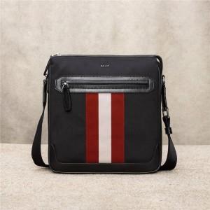 bally striped Choller tsp men's nylon crossbody bag