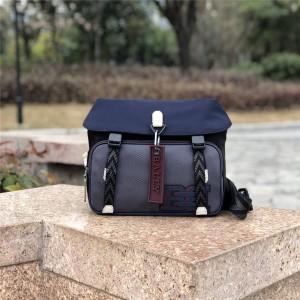 bally men's bag new Catch small color matching nylon messenger bag
