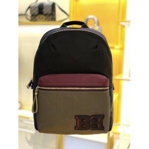 bally men's bag official website new nylon Fuston backpack