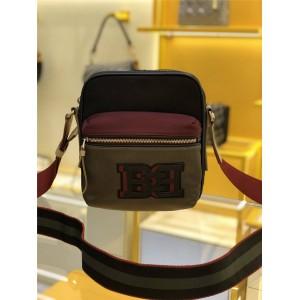 bally new men's bag color matching nylon Fuston crossbody bag