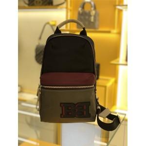bally men's bag color matching nylon Fuston shoulder bag chest bag