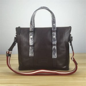 bally classic oil wax computer large briefcase shopping bag