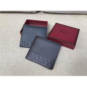 BALLY BEVYE BOLD Men's Leather Short Fold Wallet