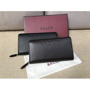 BALLY BALEN BOLD Collection Men's Long Zip Wallet