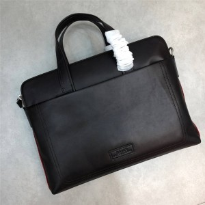 bally men bag new oil wax leather business office casual briefcase