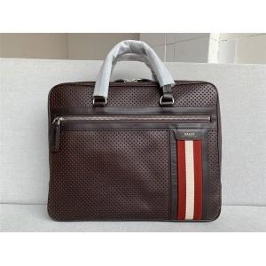 bally classic punching briefcase men's computer handbag